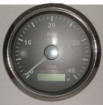Devir Göstergesi 4000 rpm Siyah