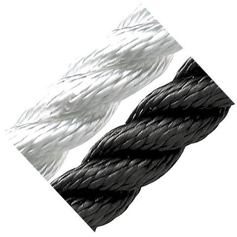 Dim-Ka 3 Kollu Yüzen Halat 20mm. Siyah