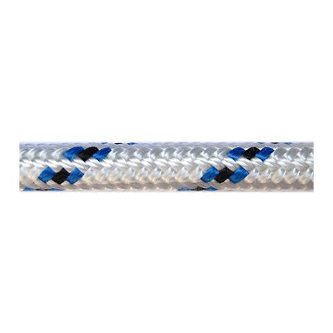 Dim-Ka Iskota Halatı 12mm. Beyaz-Mavi