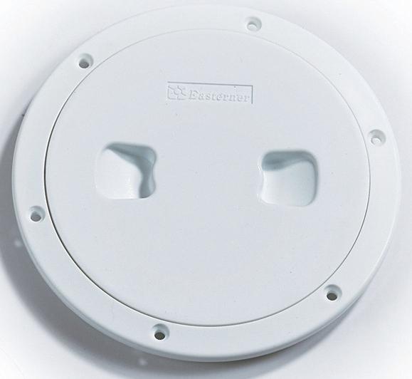 Easterner Plastik Kontrol Kapağı - Beyaz - Ø=101mm.