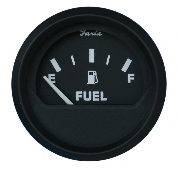 Faria Ultra Motor Zaman Göstergesi 52mm. - Siyah