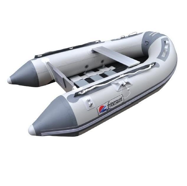 Freesun Izgara Tabanlı Şişme Bot - Gri - 2.40mt.