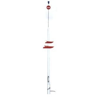 Glomex RA 1206 NY VHF Telsiz Anteni / Fiberglas / 2.4 Mt / Kablo:4,5 Mt