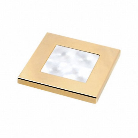 Hella Marine Slim Line Beyaz Ledli Lamba 24V - Altın Sarısı