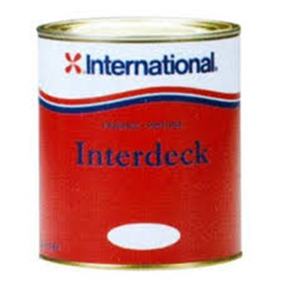 International Interdeck Kaymaz Boya 0,75 Lt. - Krem