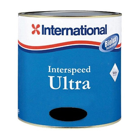 International Interspeed Ultra Zehirli Boya 2,5 Lt. - Siyah