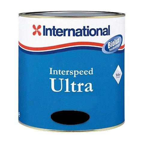 International Interspeed Ultra Zehirli Boya 2,5 Lt. - Siyah