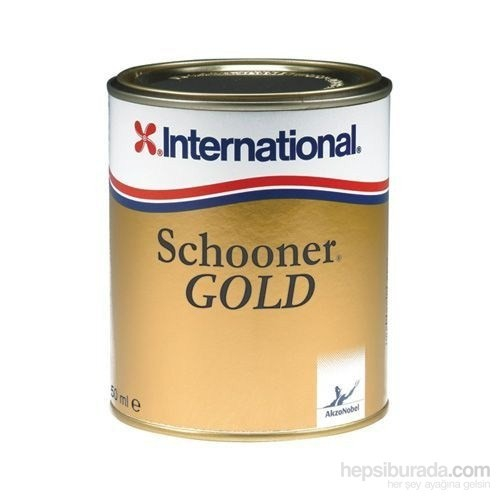 International Schooner Gold Parlak Vernik 2,50 Lt.