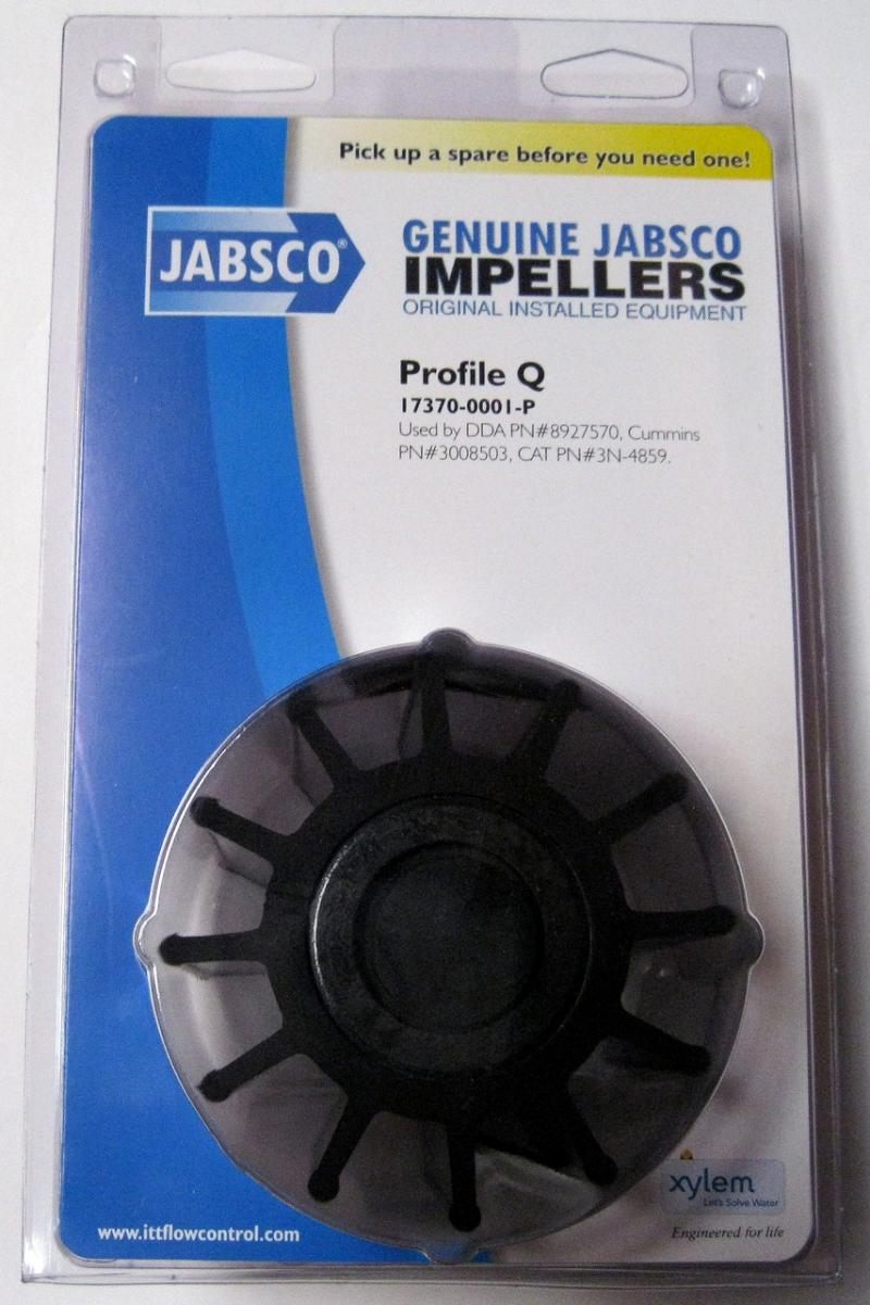 ITT Jabsco 17370-0001 İmpeller