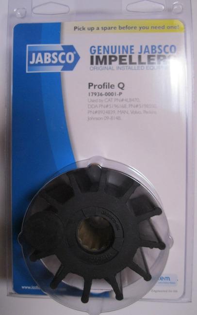 ITT Jabsco 17936-0001 İmpeller