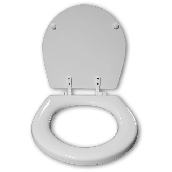 ITT Jabsco Ahşap WC Kapağı - Ev Tipi - Beyaz