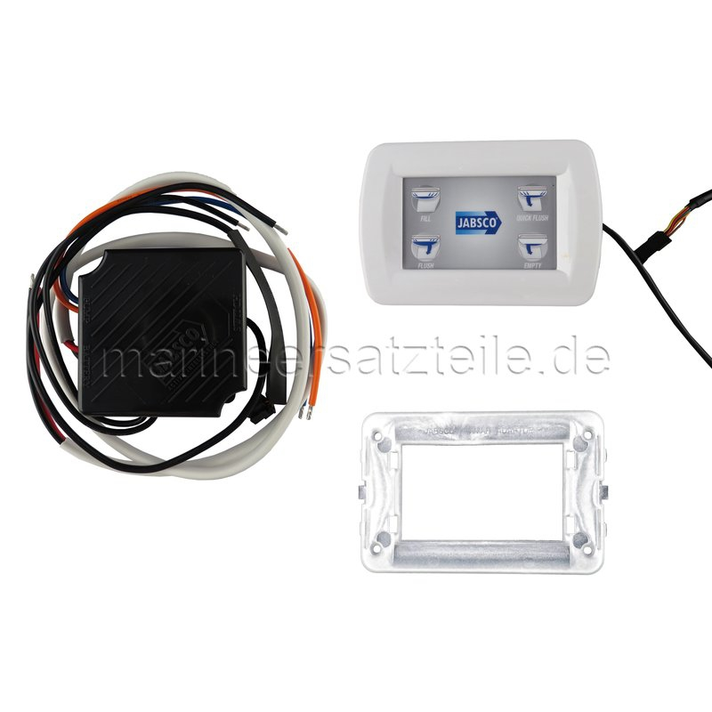 ITT Jabsco Kontrol Kiti Deluxe Flush WC için