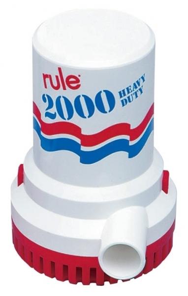 ITT Rule 10 Sintine Pompası 2000 GPH 12V