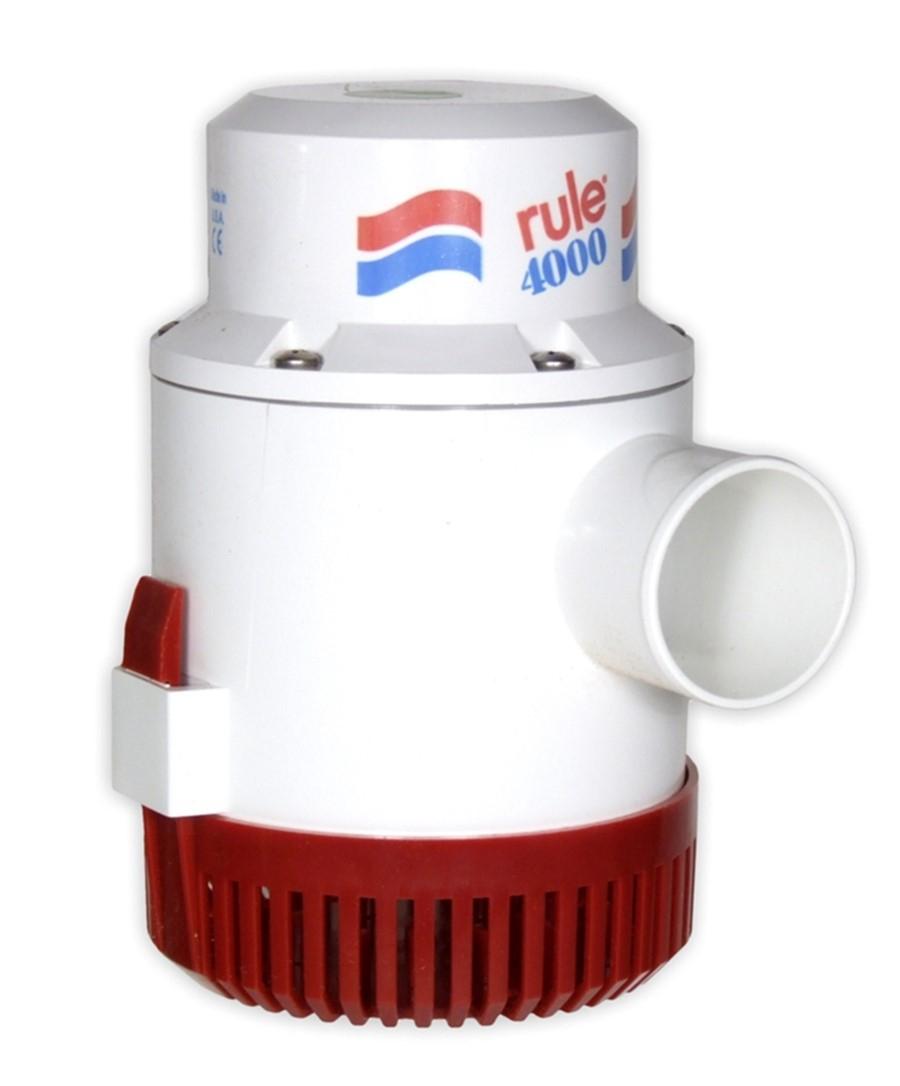 ITT Rule 56D-24 Sintine Pompası 4000 GPH 24V