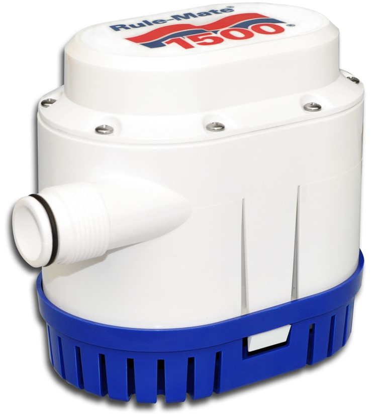 ITT Rule RM1100 Rule-Mate Sintine Pompası 1500 GPH 12V - Otomatik