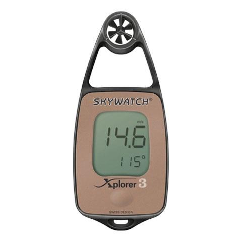 JDC Skywatch Xplorer 3 Anemometre/Termometre - Elektronik Pusulalı