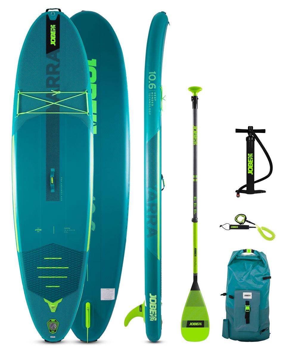 Jobe Yarra Teal Sup Board Seti 10.6 - Yeşil