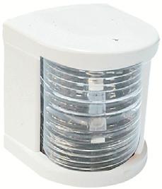 Küçük Seyir Feneri Beyaz Polikarbon - Ledli 12V - Pupa - Beyaz