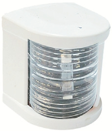 Küçük Seyir Feneri Siyah Polikarbon - Ledli 12V - Silyon - Beyaz