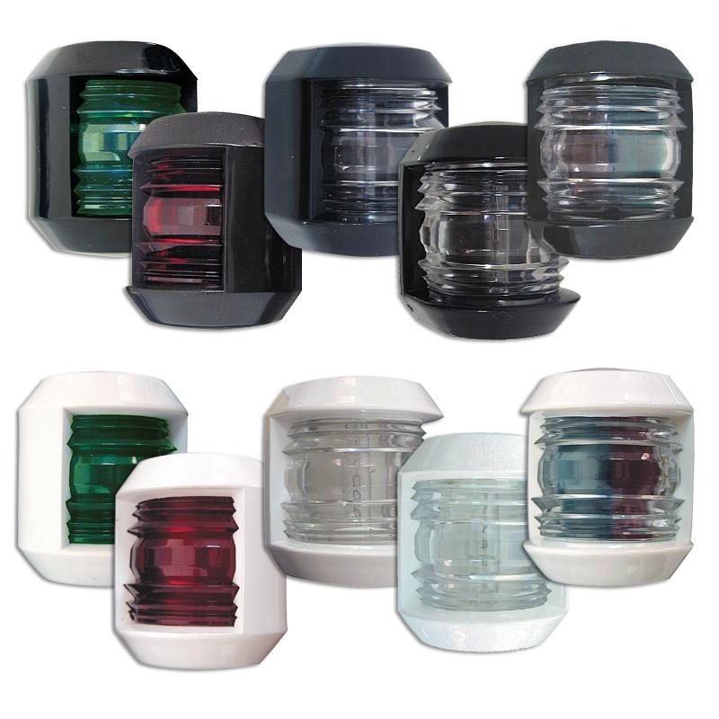 Lalizas Junior N12 Seyir Feneri Siyah Plastik - İskele/Sancak - Kırmızı/Yeşil