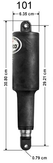 Lenco Marine 101 Yedek Silindir 24V - Flap Sistemler için