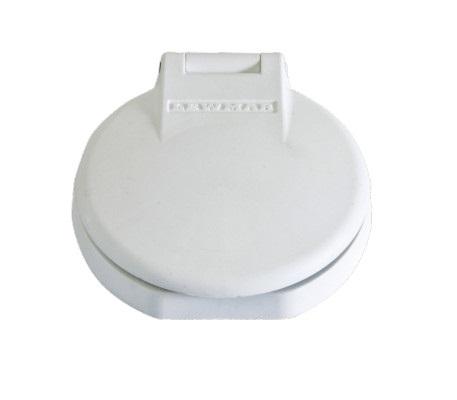 Lewmar Güverte Ayak Şalteri - Down/Beyaz