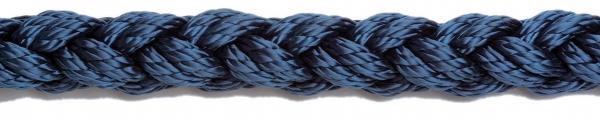 Liros Squareline-PP 8 Kollu Yüzen Bağlama Halat 22mm. Siyah