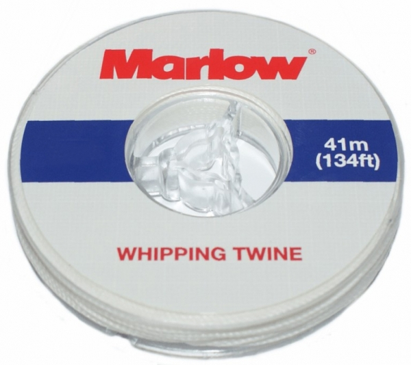 Marlow Whipping Twine No:8 Yelken Dikiiş İpi - 0,8mm. - Beyaz