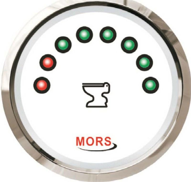 Mors Dijital Pis Su Tankı Seviye Göstergesi 12-24V - 240/33 Ohm. - Beyaz