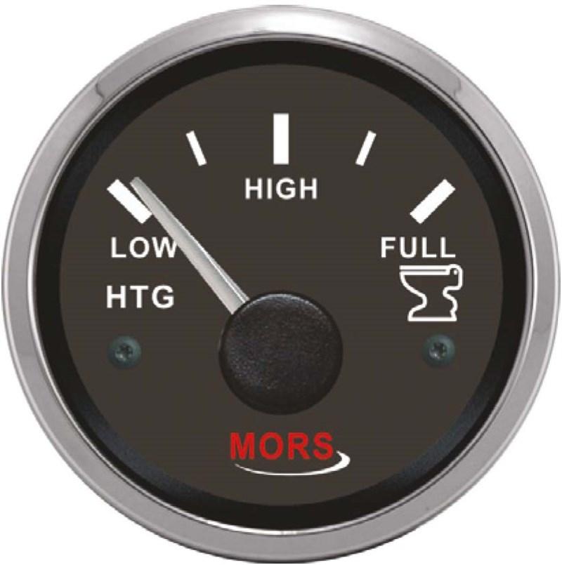 Mors Pis Su Tankı Seviye Göstergesi 12-24V - 240/33 Ohm. - Siyah