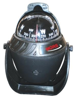 Mors Pusula Işıklı Siyah- 14cm
