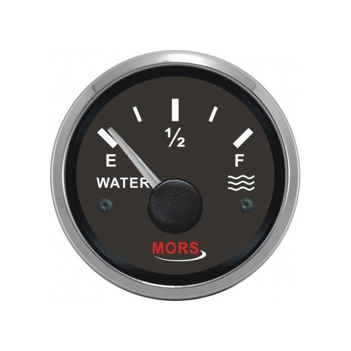 Mors Su Göstergesi 12-24 V Siyah