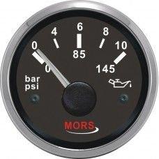 Mors Yağ Göstergesi 12-24V - 10 Bar - Siyah