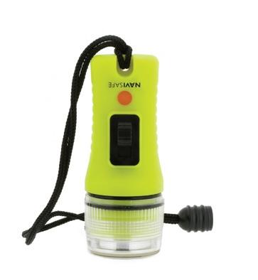 Navisafe Navi Light Glo LED El Feneri - Fosforlu Yeşil