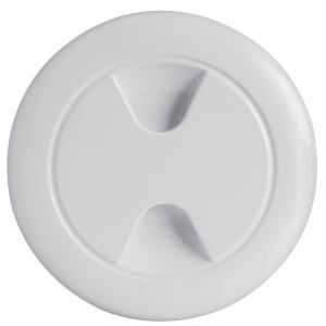 Nuova Rade Plastik Kontrol Kapağı - Beyaz - Ø=133-187mm.
