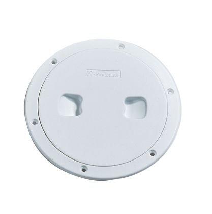 Nuova Rade Plastik Kontrol Kapağı - Beyaz - Ø=170mm.