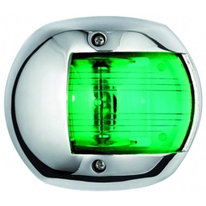 Osculati CLASSIC 12 Seyir Feneri AISI 316 Paslanmaz Çelik 12V - Sancak - Yeşil
