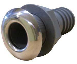 Osculati Firar 1¼' - Plastik/Paslanmaz Çelik