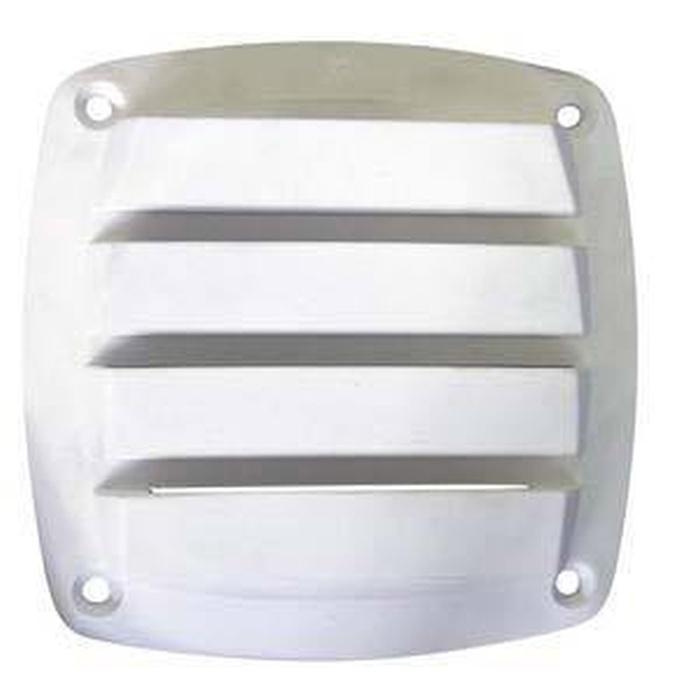 Osculati Havalandırma 125x125mm. - Beyaz Plastik