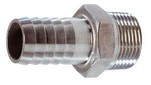 Osculati Hortum Adaptörü - 3/8'x15mm. - AISI 316 Paslanmaz Çelik