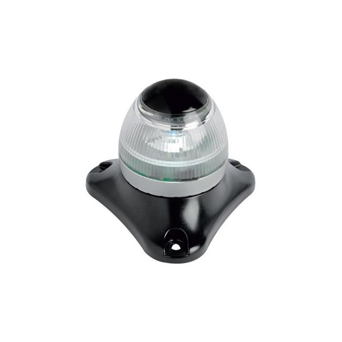 Osculati Sphera II Seyir Feneri Siyah Plastik - Demir - 360° Beyaz