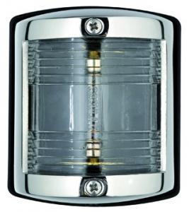 Osculati Utility 85 Seyir Feneri Paslanmaz Çelik 12V - Pupa - Beyaz