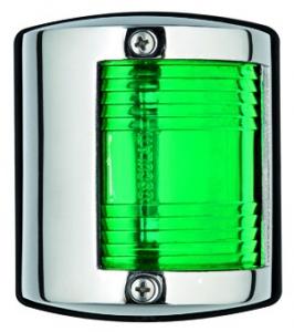 Osculati Utility 85 Seyir Feneri Paslanmaz Çelik 12V - Sancak - Yeşil