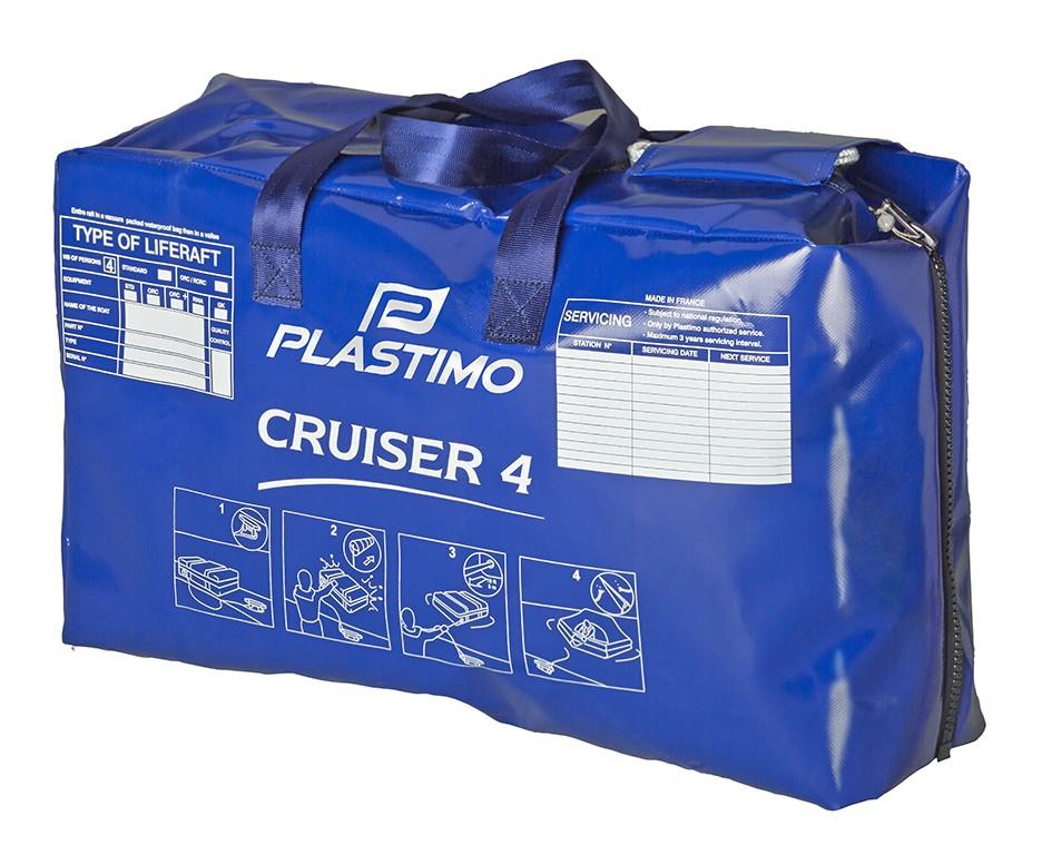 Plastimo Cruiser 6 Standart Valise Can Salı - 6 Kişilik
