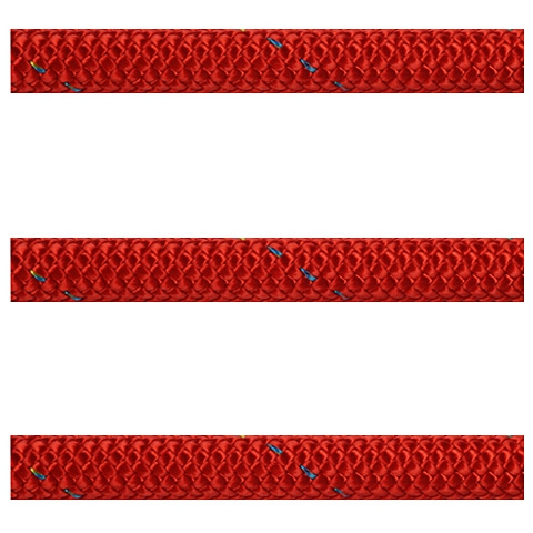 Polyropes Dyneemic Racer 3003 Iskota Halatı 8mm. Kırmızı