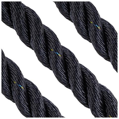 Polyropes Polsuperior 3 Kollu Polyester Bağlama Halatı 22mm. Lacivert