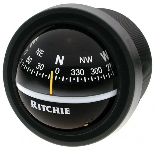 Ritchie Explorer V-57 Gömme Pusula - Siyah