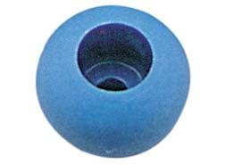 Ronstan RF1315 Plastik İp Stoper Topu - Mavi