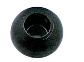 Ronstan RF1315 Plastik İp Stoper Topu - Siyah
