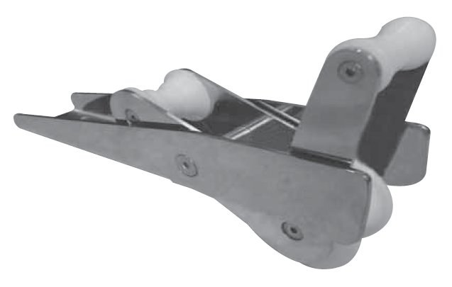 Saray Baş Makarası - Paslanmaz Çelik - 110x600mm. - Delta Çapalar için